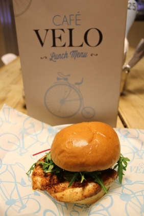 Our tandoori chicken fillet burger is possibly our most popular dish.